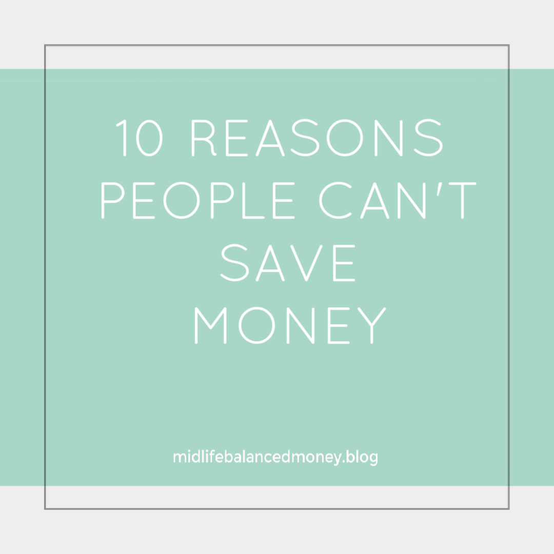 10 reasons not to save money